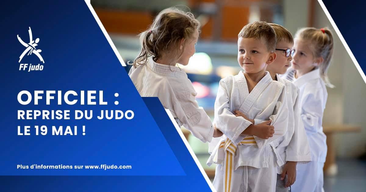 Reprise des cours – Judo Scolaire